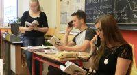 Ve čtvrtek 9. listopadu se opět potvrdilo, že i ve škole může být příjemně a kulturně. Již tradičně se naši studenti zapojují do festivalu Město čte knihu. Nejen že vystupují […]