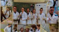 Studentky a studenti Praktické chemie zaujali návštěvníky svými experimenty.