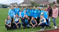 Ve čtvrtek 23.5. proběhlo na Tyršově stadionu krajské kolo Poháru rozhlasu, do kterého se probojovala obě družstva dívek z nižšího gymnázia. Starší děvčata po vítězství v okresním kole zazářila i […]